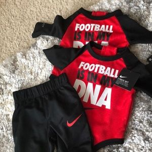 Baby boy Nike bodysuit and pant set